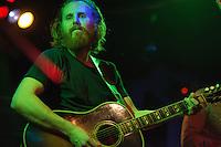 Frontman Brian Roberts performs during Ha Ha Tonka's Friday night performance at Tap Root.