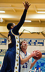 Scenes from the Perryville versus North East High School varsity girls basketball game at North East High School in North East, Maryland on January 6, 2011.