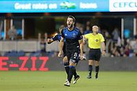 SAN JOSE, CA - JUNE 26: Vako #11 during a Major League Soccer (MLS) match between the San Jose Earthquakes and the Houston Dynamo on June 26, 2019 at Avaya Stadium in San Jose, California.