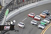 #20: Harrison Burton, Joe Gibbs Racing, Toyota Supra Dex Imaging, white flag
