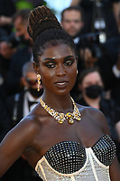 CANNES, FRANCE. July 8, 2021: Jodie Turner-Smith at the Stillwater Premiere at the 74th Festival de Cannes.<br /> Picture: Paul Smith / Featureflash