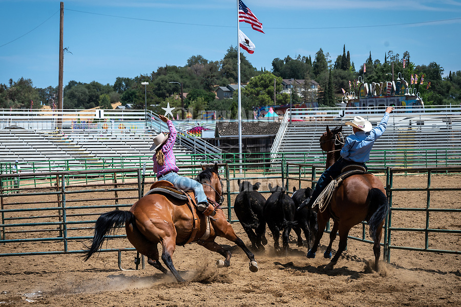 Local Cattlemen's Day at the 82nd annual Amador County Fair, Plymouth, California, ranching events, Frontier Town, horses, kids, CPRCA Rodeo, Mutton Bustin' finals, and tribute to the late Ralph Clark and Dick Cooper, former fair managers and Doug Mondani, fair booster and local cowboy.<br /> .<br /> .<br /> .<br /> .<br /> .<br /> @AmadorCountyFair, #1SmallCountyFair, #VisitAmador, #PlymouthCalifornia, #AmadorCountyFair, #Best4DaysOfSummer, #AmadorCounty, #26thDAA