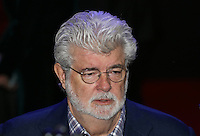 George Lucas during the STAR WARS: 'The Force Awakens' EUROPEAN PREMIERE at Odeon, Empire & Vue Cinemas, Leicester Square, England on 16 December 2015. Photo by David Horn / PRiME Media Images