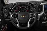 Car pictures of steering wheel view of a 2020 Chevrolet Silverado-1500 LT 4 Door Pick-up Steering Wheel