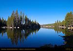 Alpine Lake, Stanislaus National Forest, Highway 4, Alpine County, California