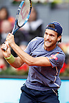 Joao Sousa, Portugal, during Madrid Open Tennis 2016 match.May, 6, 2016.(ALTERPHOTOS/Acero)