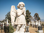 Angels in the cemetery along US 50, Austin, Nev.