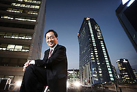 Kim Shin-bae, CEO of SK Telecom<br /> <br /> Photo portfolio of Kim  / Sinopix