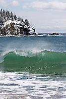 Winter Waves & Great Head  #A49