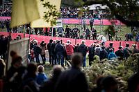 CX world champion Wout Van Aert (BEL/Crelan-Charles)<br /> <br /> Elite Men's race<br /> Koppenbergcross / Belgium 2017