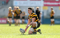 Monday 27th February 2017 | ULSTER SCHOOLS CUP SEMI-FINAL<br /> <br /> James Hume during the Ulster Schools Cup Semi-Final between RBAI and Ballymena Academy  at Kingspan Stadium, Ravenhill Park, Belfast, Northern Ireland. <br /> <br /> Photograph by John Dickson | www.dicksondigital.com