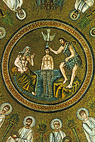 Ravenna: Baptistry of the Arians--the Cupola, 6th century.