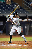 Glendale Desert Dogs Courtney Hawkins (10), of the Chicago White Sox organization, during a game against the Peoria Javelinas on October 18, 2016 at Peoria Stadium in Peoria, Arizona.  Peoria defeated Glendale 6-3.  (Mike Janes/Four Seam Images)