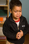 Preschool Day Care 2 year olds crying boy separation vertical