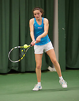 March 14, 2015, Netherlands, Rotterdam, TC Victoria, NOJK, Carmen van Poelgeest (NED)<br /> Photo: Tennisimages/Henk Koster