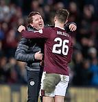 26.01.2020 Hearts v Rangers: Daniel Stendel and Craig Halkett