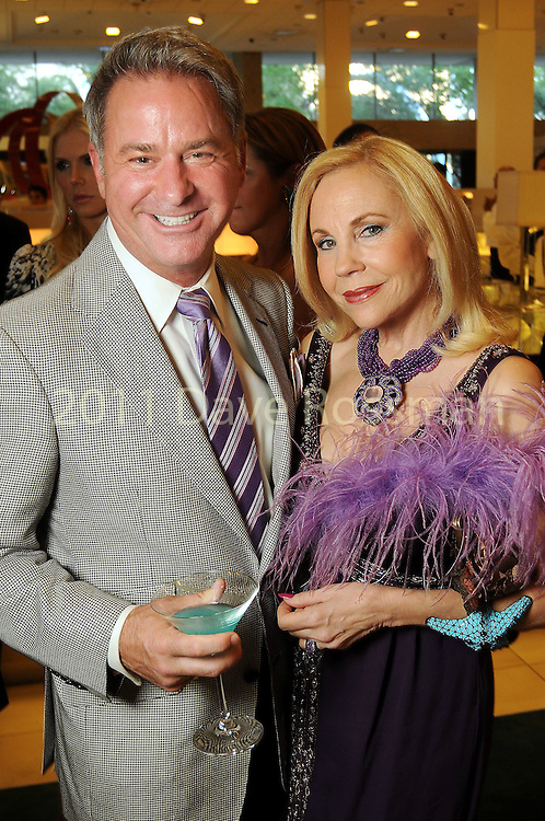 Terry Wayne Jones and Carolyn Farb at the Legacy Community Health Services 11th spring soir?e at Neiman Marcus Sunday May 02,2010.  (Dave Rossman Photo)