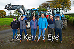 At the Ballymac Vintage Run to help Rosie Bloom on Sunday, l to r: Gearoid and Sean Collins (Cordal), Sinead Allen (Ballymac), Aidan Stack (Abbeydorney), Paul O'Dowd and Brian Quilter (Lixnaw).