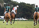 January 10, 2021:  In their debut, Santa Clara Polo Club defeats Beverly Polo Club 11-10 in Overtime, at the International Polo Club, Palm Beach, on January 10, 2021, in Wellington, Florida. Beverly Polo's Tolito Ocampo was Most Valuable Player.  Matias Magrini's Don Ercole Elite was Best Playing Pony. (Photo by Liz Lamont/Eclipse Sportswire/CSM