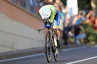 9th September 2021; Trento, Trentino–Alto Adige, Italy: 2021 UEC Road European Cycling Championships, Mens Individual time trials: Tadej POGACAR (SLO)