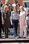 MADRID (26/04/2010).- Princess Letizia of Spain visits the Joaquin Blume school in Torrejon de Ardoz...Photo: Cesar Cebolla / ALFAQUI