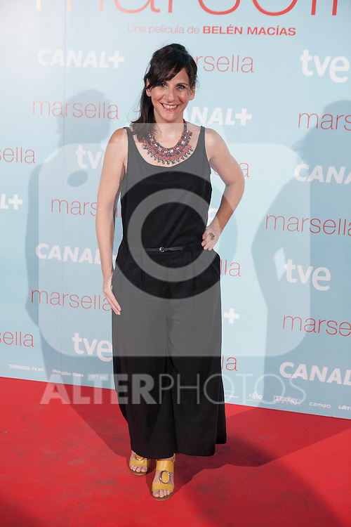 Malena Alterio poses at `Marsella´ film premiere photocall at Capital cinema in Madrid, Spain. July 17, 2014. (ALTERPHOTOS/Victor Blanco)
