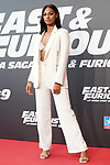 Spanish singer NIA during the photocall for the 'Fast & Furious 9' Madrid Premiere. June 17, 2021. (ALTERPHOTOS/Acero)
