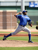 Leondy Perez / Kansas City Royals 2008 Instructional League..Photo by:  Bill Mitchell/Four Seam Images