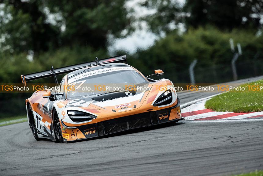 Morgan Tillbrook & Marcus Clutton, McLaren 720S GT3, Enduro Motorsport round Goddards during the British GT & F3 Championship on 11th July 2021