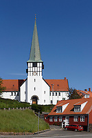 Nikolai-Kirche in Rønne, Insel Bornholm, Dänemark, Europa<br /> Nikolai Church, Roenne, Isle of Bornholm, Denmark