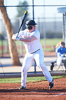 Davin Jacobs (53), from Lamar, Colorado, while playing for the Nationals during the Under Armour Baseball Factory Recruiting Classic at Red Mountain Baseball Complex on December 29, 2017 in Mesa, Arizona. (Zachary Lucy/Four Seam Images)