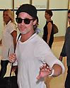 Brad Pitt arrives in Japan