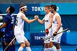 Sam Lane. Men's match between New Zealand and Japan, Oi Hockey Stadium, Tokyo, Japan, Tuesday 27 July 2021. <br /> Photo: Alisha Lovrich/HockeyNZ/www.bwmedia.co.nz