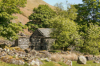 BNPS.co.uk (01202) 558833. <br /> Pic: Savills/BNPS<br /> <br /> Pictured: Outbuildings. <br /> <br /> Property buyers who want to get away from it all can buy a traditional Lakeland farm in their own private valley for £2m.<br /> <br /> Dowthwaite Head is in a beautiful and quiet part of the Lake District National Park, in a private valley with a stream running through it.<br /> <br /> The valley was once home to a community of farms, which are no longer there, but a number of barns and abandoned farmhouses remain.<br /> <br /> Dowthwaite Head has about 292 acres with a traditional farmhouse and a number of other buildings with development potential.<br /> <br /> The picturesque valley has undulating grassland interspersed with woodlands, rising towards the striking Lakeland Fells.