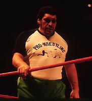 Andre the Giant 1986<br /> Photo By John Barrett/PHOTOlink