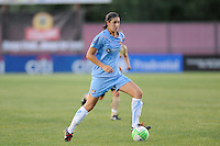 Yael Averbuch (13) of Sky Blue FC. FC Gold Pride defeated Sky Blue FC 1-0 during a Women's Professional Soccer (WPS) match at Yurcak Field in Piscataway, NJ, on May 1, 2010.