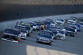 #23: Brett Moffitt, GMS Racing, Chevrolet Silverado, #18: Christian Eckes, Kyle Busch Motorsports, Toyota Tundra Safelite AutoGlass