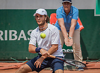Paris, France, 28 May, 2017, Tennis, French Open, Roland Garros, Marco Trungelliti (ARG)<br /> Photo: Henk Koster/tennisimages.com