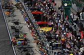 2017 NASCAR Cup - Daytona 500<br /> Daytona International Speedway, Daytona, FL USA<br /> Sunday 26 February 2017<br /> Kyle Busch, M&M's Toyota Camry, pit stop<br /> World Copyright: Michael L. Levitt/LAT Images<br /> ref: Digital Image levitt-0217-D500_47176