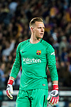 Goalkeeper Marc-Andre Ter Stegen of FC Barcelona looks on during the La Liga 2017-18 match between FC Barcelona and Real Madrid at Camp Nou on May 06 2018 in Barcelona, Spain. Photo by Vicens Gimenez / Power Sport Images