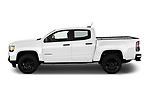 Car Driver side profile view of a 2021 GMC Canyon Elevation-Standard 4 Door Pick-up Side View