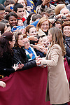 Princess Letizia of Spain visits Caspe village on November 7, 2012 in Alcaniz, Teruel, Spain.(ALTERPHOTOS/Harry S. Stamper)