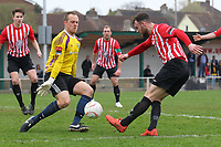 Martin Tuohy goes close to a goal for Hornchurch - AFC Hornchurch vs Billericay Town - Ryman League Premier Division Football at The Stadium, Bridge Avenue - 06/04/15 - MANDATORY CREDIT: Gavin Ellis/TGSPHOTO - Self billing applies where appropriate - contact@tgsphoto.co.uk - NO UNPAID USE