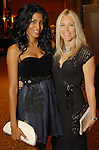 Ursaline Hamilton and Lisa Olsson (cq) at the Una Notte in Italia party at the Intercontinental Houston Hotel Saturday Nov. 07,2009. (Dave Rossman/For the Chronicle)
