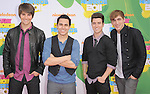 Big Time Rush attends The 24th Annual Kids' Choice Awards held at USC's Galen Center in Los Angeles, California on April 02,2011                                                                               © 2010 DVS / Hollywood Press Agency