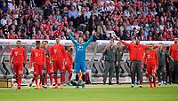 19.05.2018, Football DFB-Pokal Finale 2018, FC Bayern Muenchen - Eintracht Frankfurt, Olympiastadium in Berlin. goalkeeper Manuel Neuer (FC Bayern Muenchen). *** Local Caption *** © pixathlon<br /> <br /> Contact: +49-40-22 63 02 60 , info@pixathlon.de