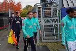 17.10.2020, Schwarzwald Stadion, Freiburg, GER, 1.FBL, SC Freiburg vs SV Werder Bremen<br /> <br /> im Bild / picture shows<br /> <br /> Kevin Möhwald / Moehwald (Werder Bremen #06)<br /> Niklas Moisander (Werder Bremen #18 Kapitaen)<br /> <br /> <br /> Foto © nordphoto / Bratic<br /> <br /> DFL REGULATIONS PROHIBIT ANY USE OF PHOTOGRAPHS AS IMAGE SEQUENCES AND/OR QUASI-VIDEO.
