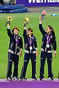ARCHIVE: medal ceremony for the Women's Football of the London 2012 Summer Olympic Games