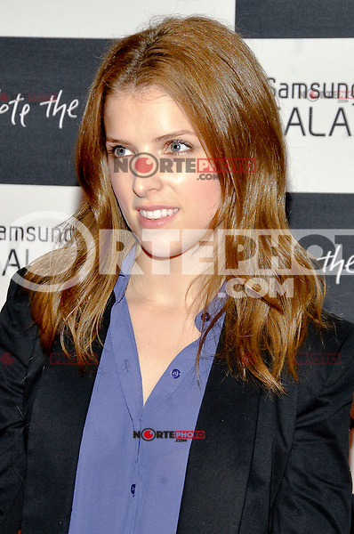 NEW YORK - AUGUST 15: Actress Anna Kendrick attends Samsung Galaxy Note 10.1 Launch Event at Jazz at Lincoln Center on August 15, 2012 in New York City. (Photo byMPI81/MediaPunchInc) /NortePhoto.com<br />