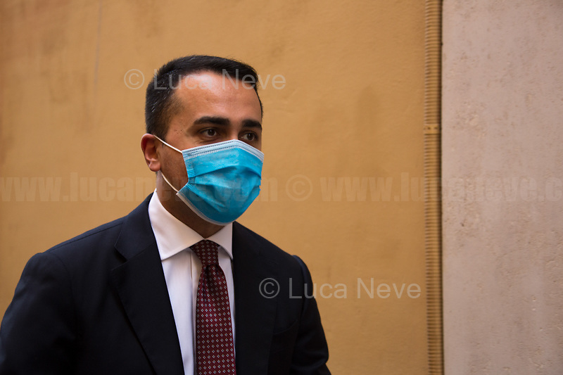 Luigi Di Maio MP (Former Foreign Minister, Five Star Movement).<br />